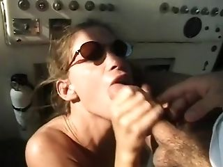 Anal Sex, Ass Fucking, Boat, Brunette, Cute, Foot Fetish, Retro,