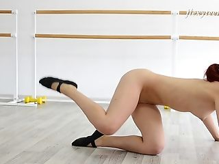 Ass, Babe, Clamp, Cute, Flexible, Model, Russian, Sexy, Solo,