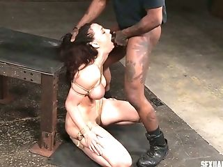 BDSM, Bondage, Chanel Preston, Dungeon, Rough,