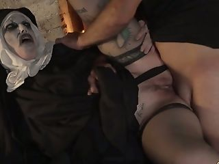 Ass, Blowjob, Boots, Cowgirl, Cum Swallowing, Cumshot, Funny, Hardcore, Missionary, Nuns,