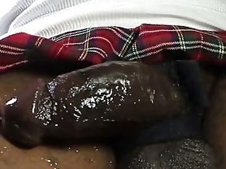 Amateur, Black, HD, Masturbation, Miniskirt, Shemale, Solo,
