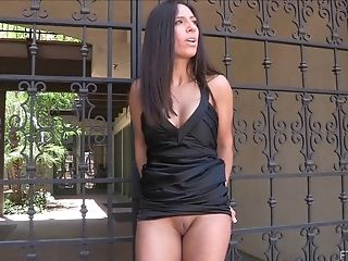 Brunette, Clamp, Close Up, Insertion, Jerking, MILF, Outdoor, Public, Pussy, Solo,