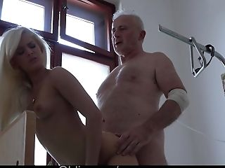 Ass Licking, Big Tits, Blowjob, Cumshot, Doctor, Doggystyle, Fucking, Grandpa, Horny, Hospital,