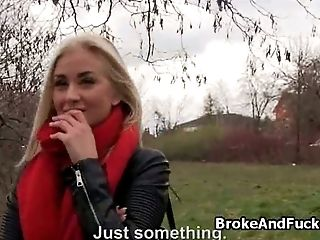 Amateur, Blonde, Blowjob, Forest, Fucking, Outdoor, Pick Up, Pretty, Teen,