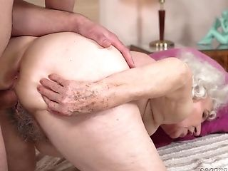 Granny, Mature, Pussy, Riding,
