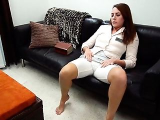 Babe, BBW, Chubby, Clothed Sex, Couch, Cute, Fingering, Legs, Masturbation, Religious,