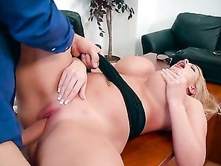 Adorable, Ass, Big Natural Tits, Big Nipples, Big Tits, Blonde, Blowjob, Boss, Brooklyn Lee, Business Woman,