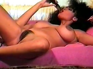 Babe, Big Tits, Brunette, Hairy, Masturbation, MILF, Retro, Sex Toys, Solo, Vintage,