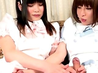 Anal Sex, Boobless, Brunette, Ethnic, HD, Japanese, Jerking, Masturbation, Shemale, Tranny,