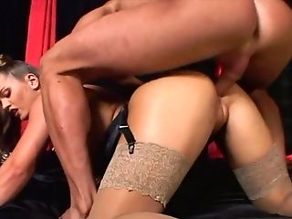 Anal Sex, Couple, Cowgirl, Cute, Doggystyle, Fingering, Hardcore, Horny, Lingerie, Missionary,