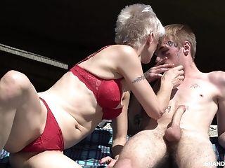 Blonde, Blowjob, Boobless, Cumshot, Facial, Granny, HD, Kinky, Lingerie, Mature,