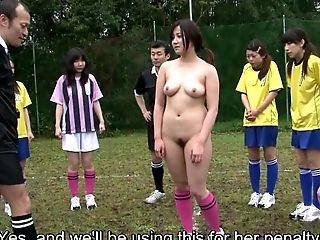 Game, Group Sex, HD, Japanese, Nudist, Outdoor, Punishment, Soccer,
