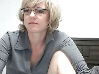 Amateur, Anal Sex, Babe, Blonde, Glasses, Homemade, Mature, MILF, Nerd, Solo,
