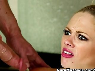 Big Ass, Big Tits, Blonde, Blowjob, Exotic, Katie Kox, Massage, Pornstar,