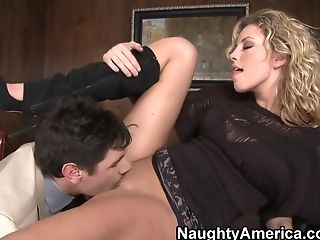 Big Tits, Blonde, Blowjob, Bold, Boobless, Facial, HD, Kiara Diane, Natural Tits, Naughty,
