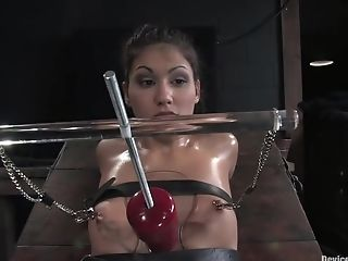 BDSM, Bound, Jade Indica, Oiled,