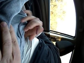 Car, Masturbation, Mature,