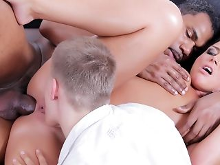 Anal Sex, Black, Cuckold, Group Sex, Interracial, Mmf, Threesome, Wife,