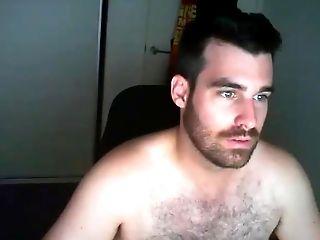 Amateur, Bear, Cute, Jerking, Webcam,