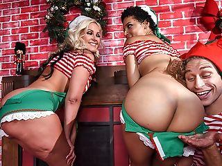 Amazing, Ass, Big Ass, Big Tits, Black, Blonde, Brunette, Cute, FFM, MILF,