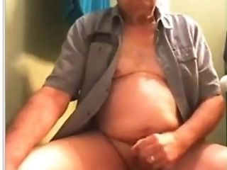 Amateur, Cum, Daddies, Grandpa, Masturbation, Webcam,