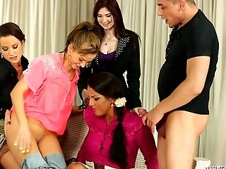 Clothed Sex, Doggystyle, Fetish, Glamour, Group Sex, Hardcore, Mature, MILF, Model, Pissing,