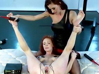 Anal Sex, Audrey Hollander, Bobbi Starr, Electrified, Fisting, Haley Wilde,