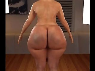 BBW, Big Ass, Brazilian, HD, Workout,