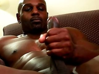 Big Cock, Black, HD, Jerking, Masturbation, Muscular, Solo, Voyeur,