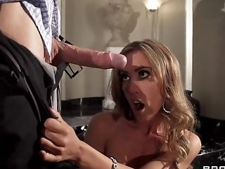 Big Cock, Big Tits, Blonde, Condom, Cum Swallowing, HD, MILF, Pornstar,