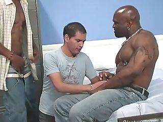 Novata, Gran Polla, Negro, Chico, Gran Pito, Interracial, Joven Gay Atractivo, Blanca,