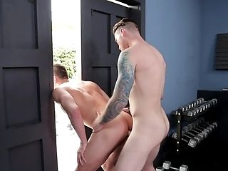Anal Sex, Big Cock, Blowjob, Brunette, Caucasian, Couple, Ethnic, Fitness, Gym, Hairy,