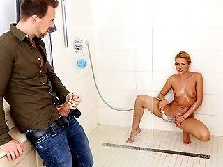 American, Bathroom, Blonde, Blowjob, Cheating, Dancing, Facial, Fingering, Husband, Jerking,