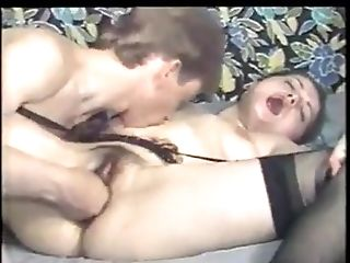 Blowjob, Couple, Cowgirl, Fingering, Fisting, German, Hairy, Hardcore, Natural Tits, Nylon,