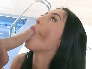 Anna Rose, Beauty, Blowjob, Brunette, Coach, Cute, Hardcore, Horny, Slut, Swimming,