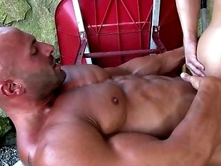 Anal Sex, Black, Blowjob, Caucasian, Couple, Cumshot, Ethnic, HD, Jerking, Kissing,