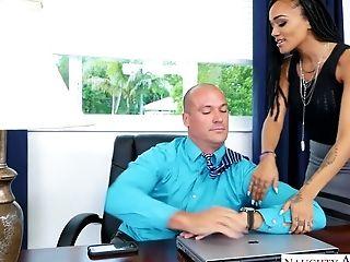 Ass, Beauty, Big Tits, Black, Boss, Handjob, Julie Kay, MILF, Missionary, Office,
