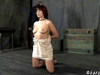 Babe, BDSM, Bondage, Dungeon, Fetish, Old, Redhead, Torture,