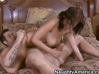 Big Cock, Big Tits, Blowjob, Bold, Halie James, HD,